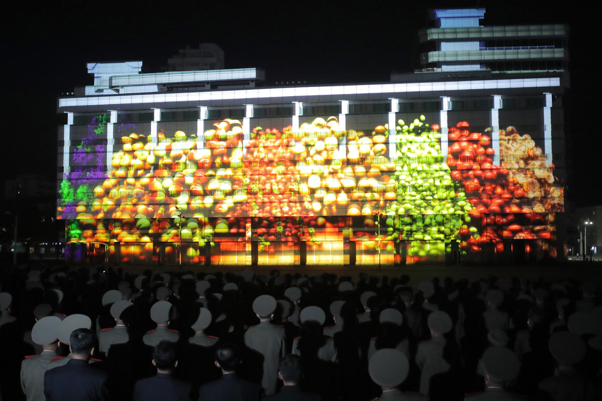 "Lighting festival ""Wonder of Light"" was opened in celebration for the 75th founding anniversary of the WPK"